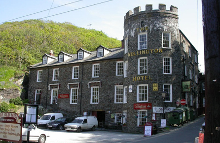 Charmiga hotell Cornwall, The Wellington Hotel Boscastle