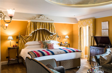 Charmiga hotell Londen, The Zetter Townhouse Marylebone Londen